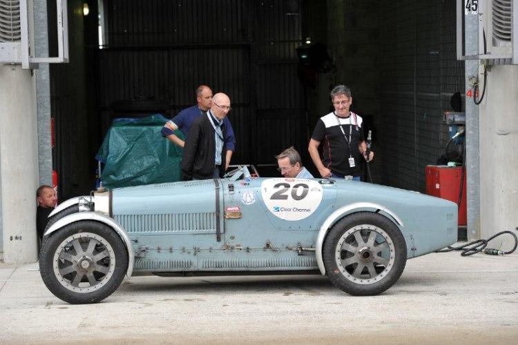1925 Bugatti Type 35 - Le Mans Classic 2012