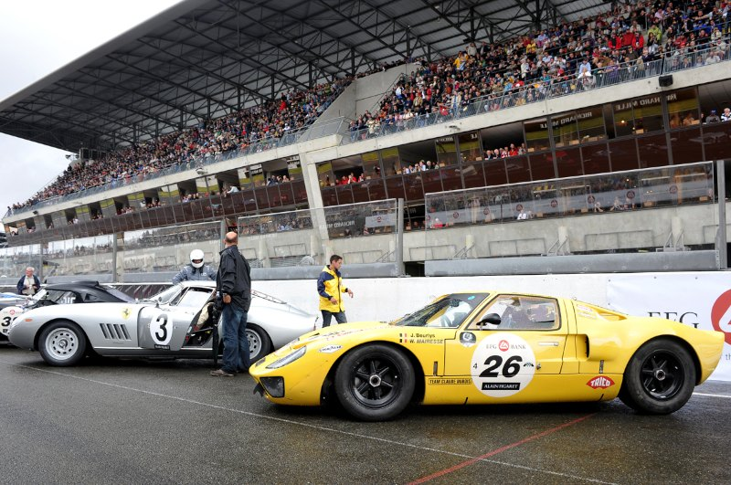 Ford GT40 at Le Mans Classic 2012