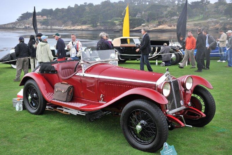 1933 Alfa Romeo 6C 1750 Zagato Spider