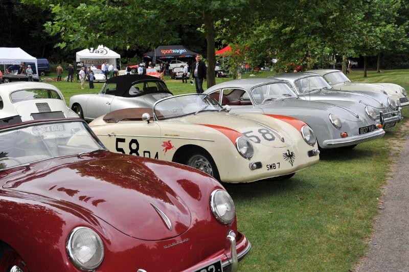 Porsche 356 at Classics at the Castle 2012