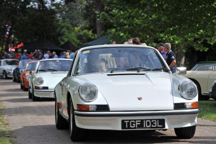 Porsche Classics at the Castle 2012