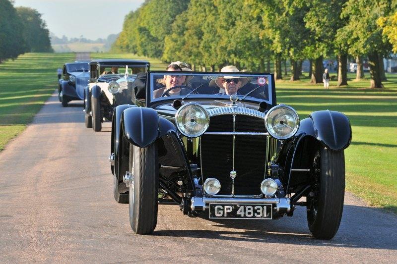 1931 Daimler Double-Six 50 Corsica Drophead Coupe