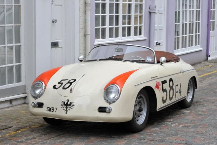 This 1958 Porsche 356 Speedster is original and with interesting period race history in the States