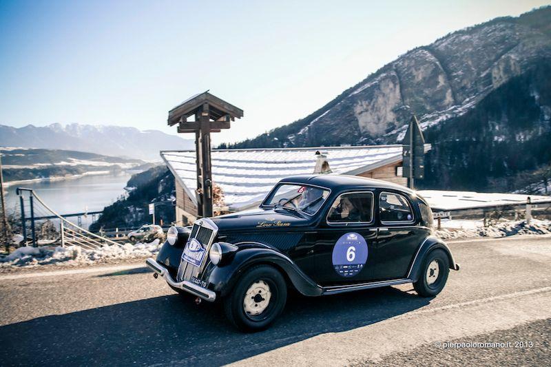 1938 Lancia Aprilia - Winter Marathon Rally 2013