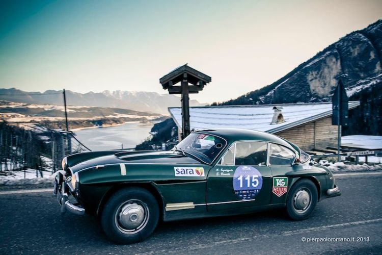 1960 Jensen 541R - Winter Marathon Rally 2013