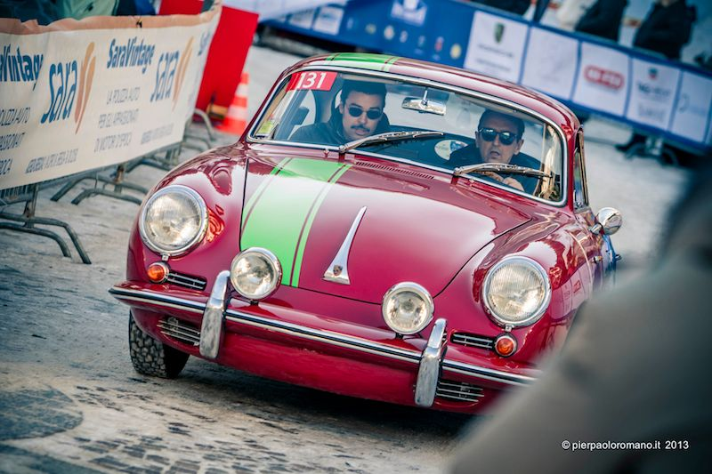 1964 Porsche 356 C Coupe - Winter Marathon Rally 2013