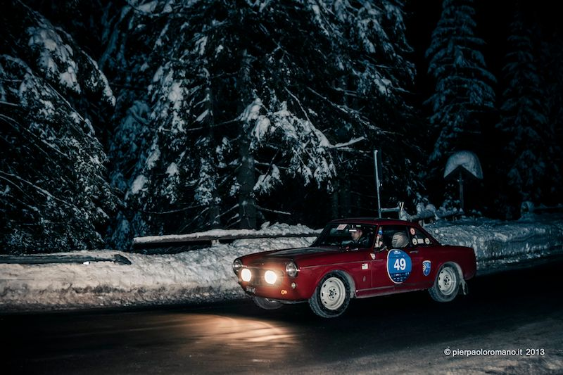 1961 Fiat 1500 Coupe - Winter Marathon Rally 2013