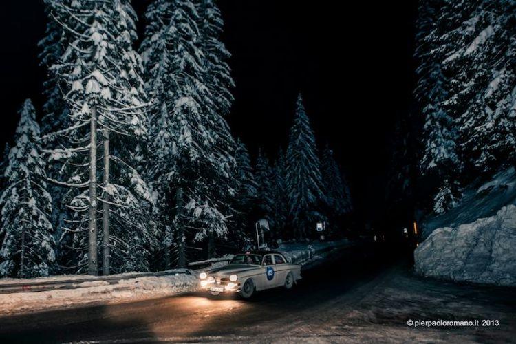 1959 Volvo 121 - Winter Marathon Rally 2013