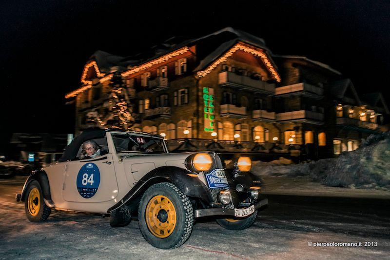 1937 Citroen 7C Cabriolet - Winter Marathon Rally 2013