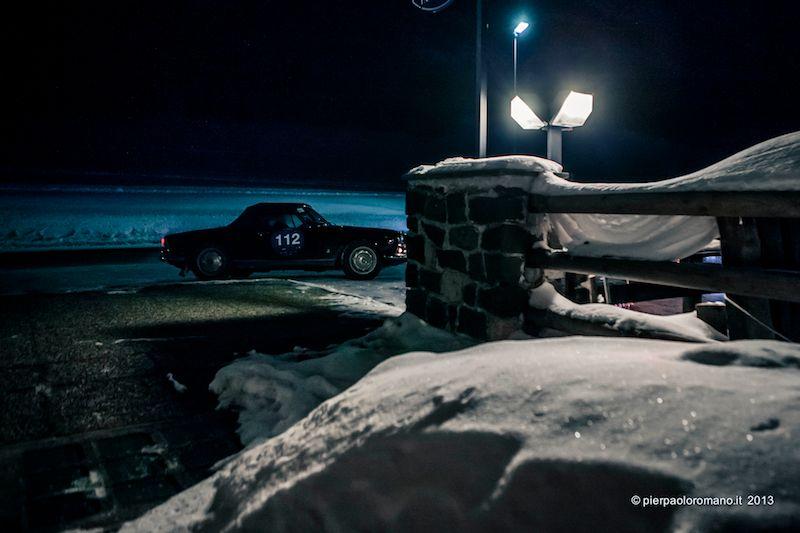 1959 Alfa Romeo Giulietta Spider - Winter Marathon Rally 2013