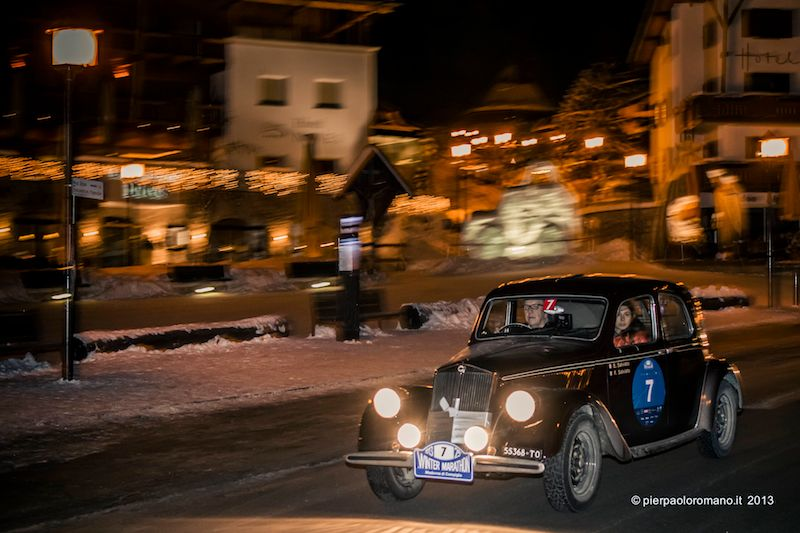 1939 Lancia Aprilia - Winter Marathon Rally 2013