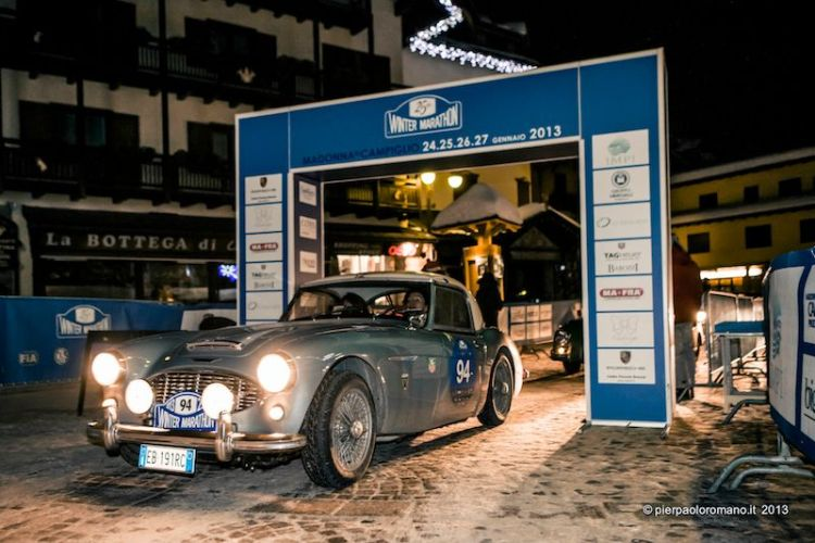1956 Austin-Healey 100/6 BN4 - Winter Marathon Rally 2013