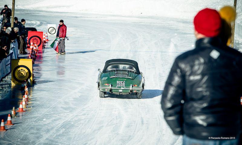 1965 Porsche 356 SC Cabriolet - Winter Marathon Rally 2013