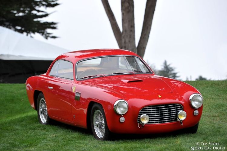 Ferrari 212 at Concorso Italiano