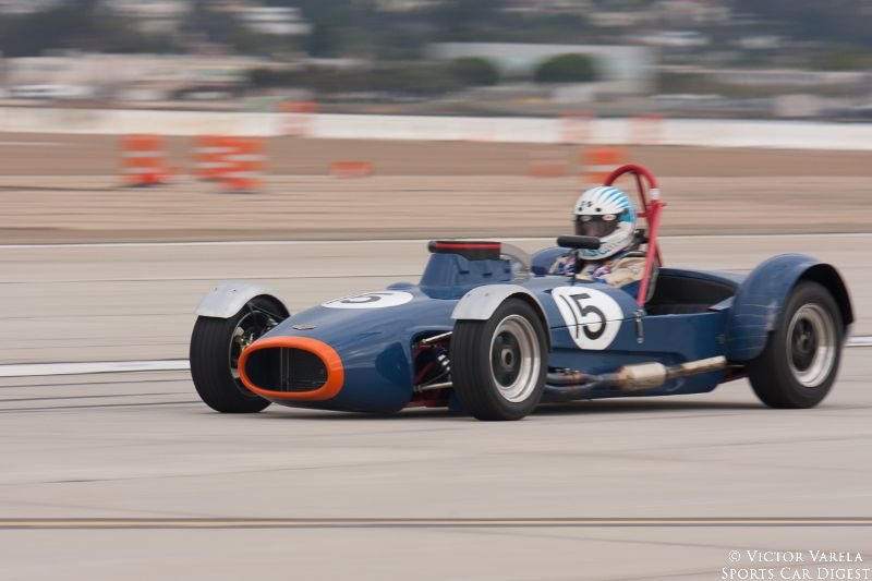 Edward Carden in his 1965 Chevron B2. © 2014 Victor Varela