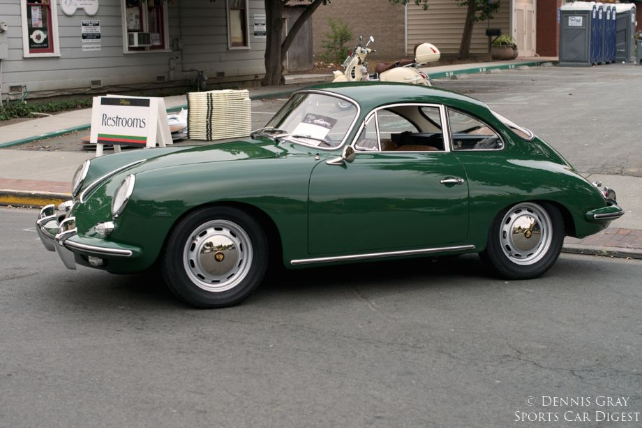 2014 Danville Concours. 1964 Porsche 356 1600.