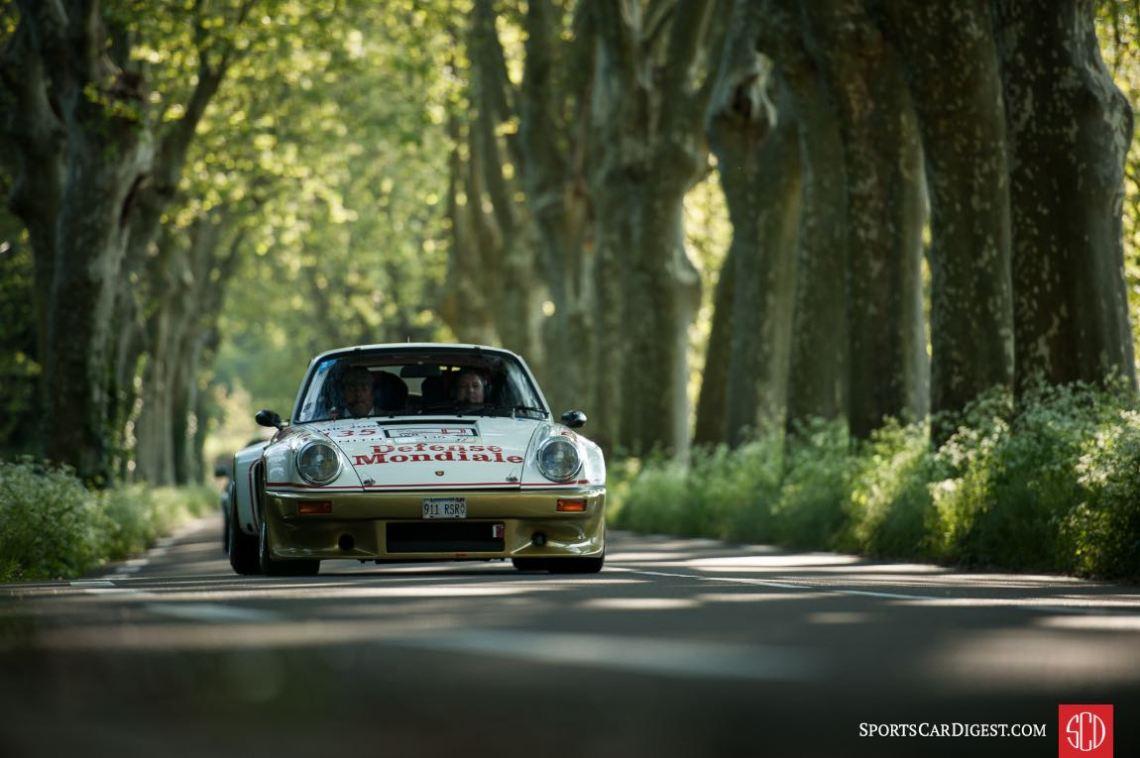 Porsche 911 Carrera RSR 3.0 at the Tour Auto Rally (photo: Pierrick Dupaquier)