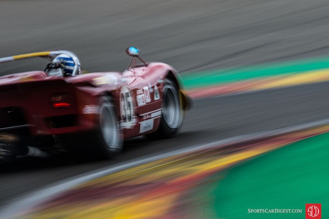 Alfa Romeo T33/3 at the Spa Classic (photo: Julien Mahiels)