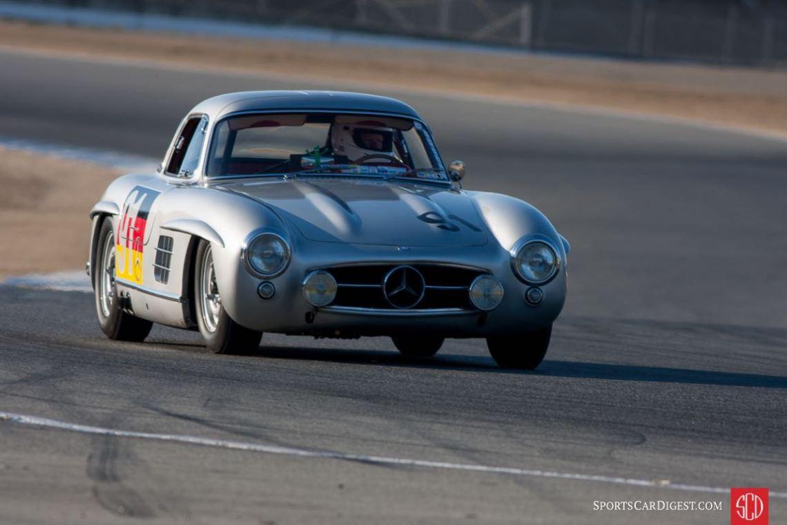 Mercedes-Benz 300SL Gullwing at the Monterey Motorsports Reunion (photo: Victor Varela)