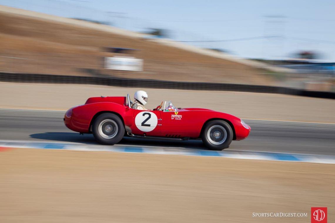Ferrari 412MI the Monterey Motorsports Reunion (photo: Victor Varela)