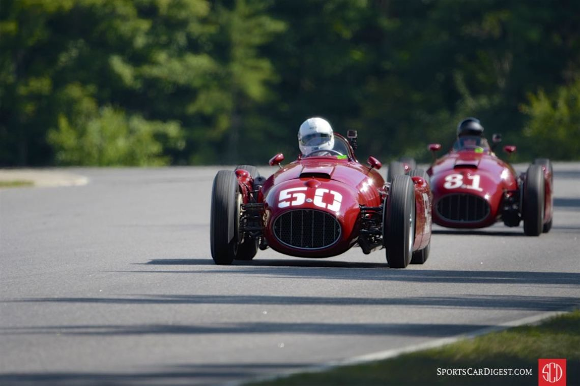 The Lancia D50s were crowd favorites at the Lime Rock Historics (photo: Michael DiPleco)