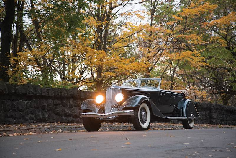 1933 Chrysler CL Imperial Dual-Windshield Phaeton (photo: Erik Fuller)