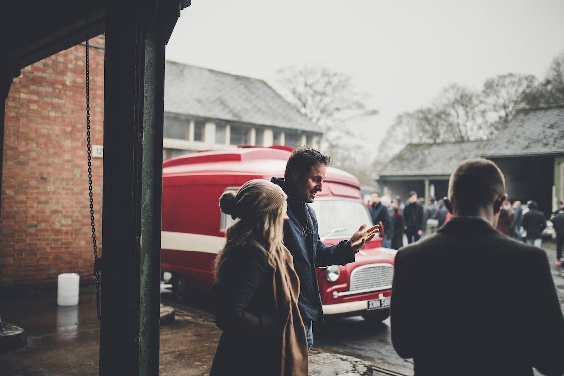 Bicester Heritage Sunday Scramble, January 2017