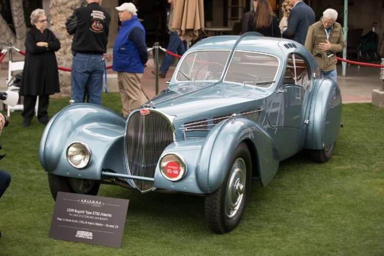1936 Bugatti 57 SC Atlantic - Ken Bryant