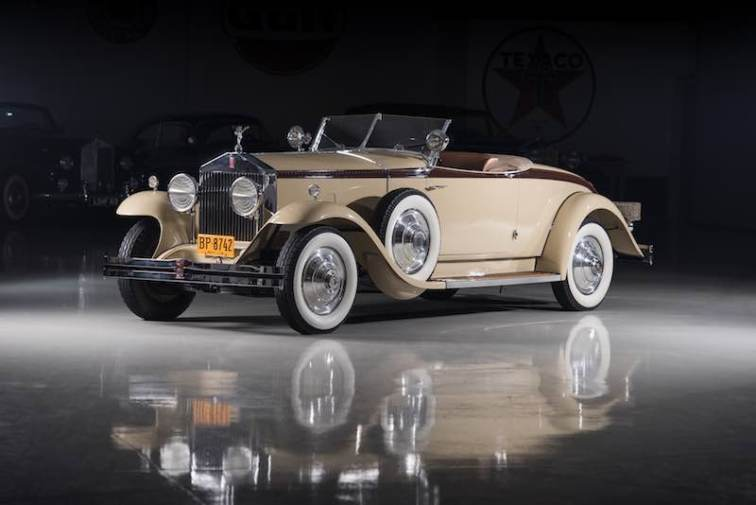 1929 Rolls-Royce Phantom I Henley Roadster by Brewster (photo: Darin Schnabel)