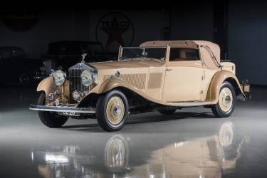 1934 Rolls-Royce Phantom II Continental Drophead Sedanca Coupe by Gurney Nutting (photo: Darin Schnabel)