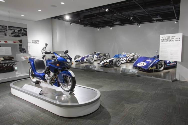 Dan Gurney Petersen Museum Exhibit