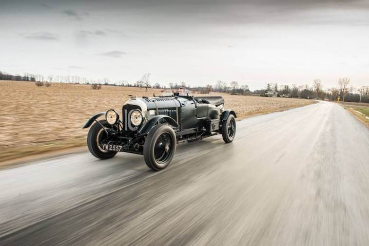 1928 Bentley 4.5-Litre Le Mans Sports in Motion