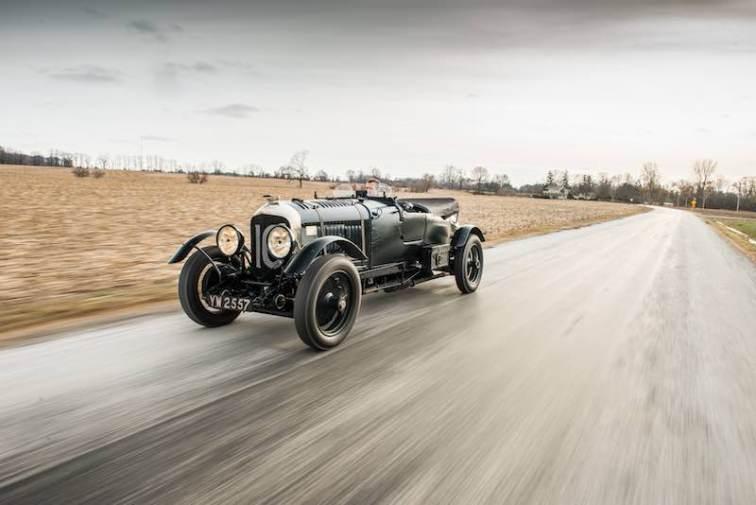 1928 Bentley 4.5-Litre Le Mans Sports in Motion