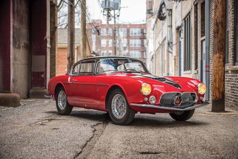 1956 Maserati A6G/54 Coupe Series III by Frua