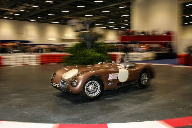 Jaguar C-type on The Grand Avenue