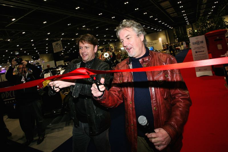 James Martin and James May open the first London Classic Car Show