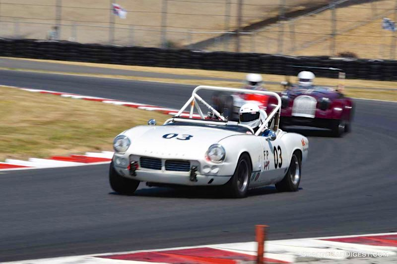Patty Norlin's 1963 Triumph Spitfire at Portland Historic Races 2015