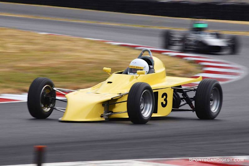 Graeme Cameron's 1973 ADF FF during Portland Historic Races 2015