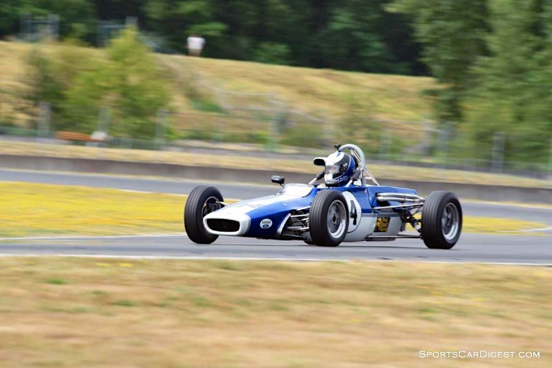 Edward VanTassel's 1970 Titan Mk6 at Portland Historic Races 2015