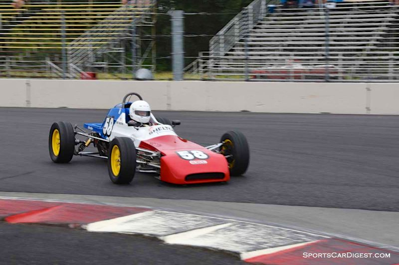 Neil Shelton's 1978 Crossle FF at Portland Historic Races 2015