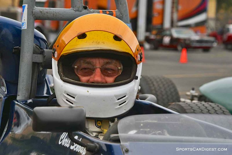 Chris Schoap's 1970 Titan Mk 6 during Portland Historic Races 2015