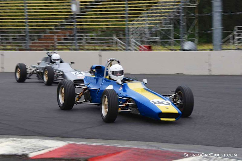 Bob Posner's 1970 Titan Mk 6B at Portland Historic Races 2015
