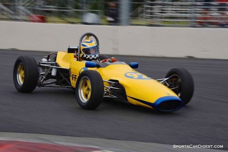 John Ballantyne's 1968 Titan Mk 4 at Portland Historic Races 2015