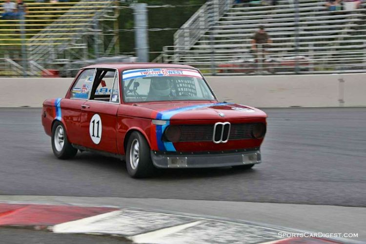 Kurt Blasman's 1970 BMW 2002 at Portland Historic Races 2015