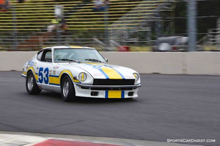 Skip Yocom's 1971 Datsun 240Z during Portland Historic Races 2015
