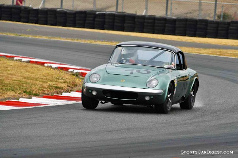 Tom Black's 1964 Lotus Elan 26R  Portland Historic Races 2015