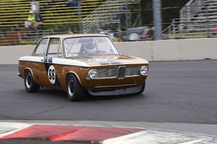 John Murrary's BMW 2002 at Portland Historic Races 2015