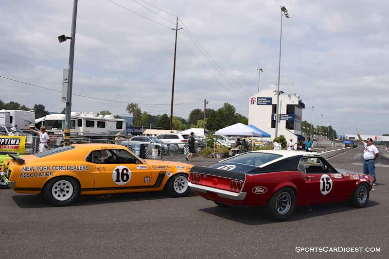 Historic Trans Am Class at  Portland Historic Races 2015