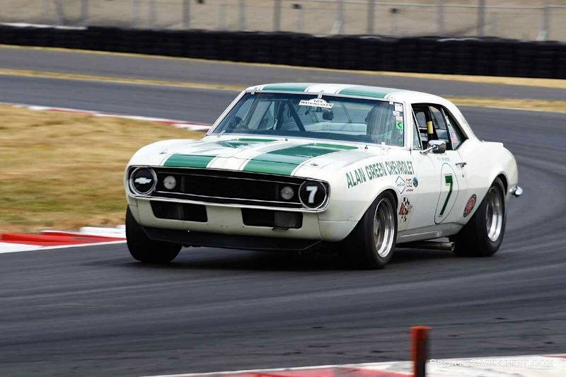 Tony Hart's 1967 Chevrolet Camaro Z28 at Portland Historic Races 2015