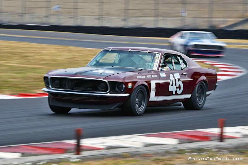 Ken Adams' 1969 Ford Mustang Boss 302 at Portland Historic Races 2015